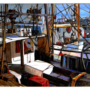 Provincetown Fishing Boats